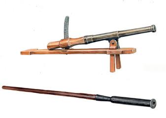 Medieval guns, Book Illustration.