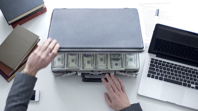 Million dollars in case, money laundering, common bribery in higher authorities