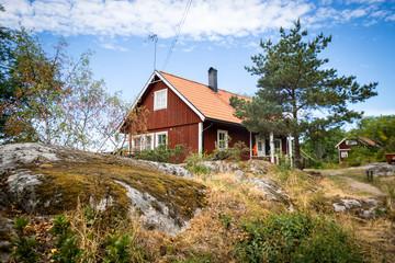 rotes haus Schweden am land