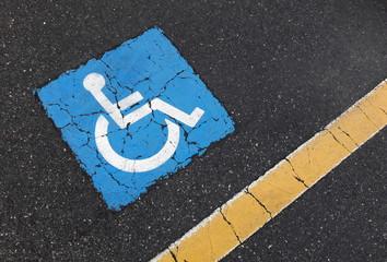 Parcheggio dedicato ai disabili