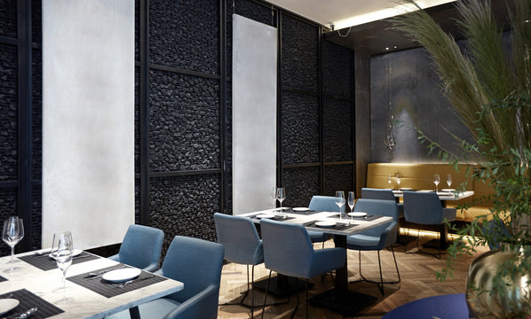 Modern restaurant interiors