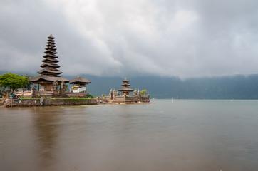 lun Danu temple Beratan Lake in Bali Indonesia