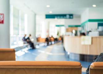病院・受付イメージ