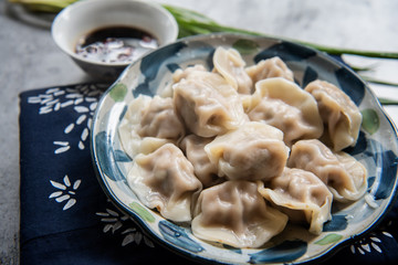 Chinese traditional delicious dumplings