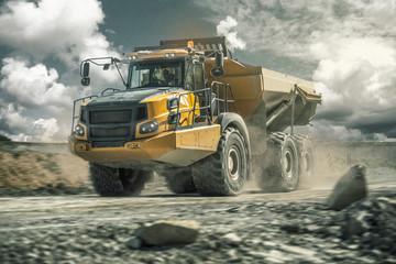 Fototapeta Dump Truck - Articulated Hauler - Wywrotka 1 obraz