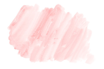 Pink creative watercolor background, hand made decoration - paper texture