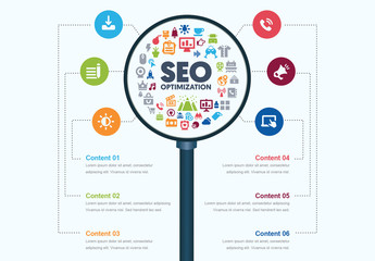 SEO Infographic Layout