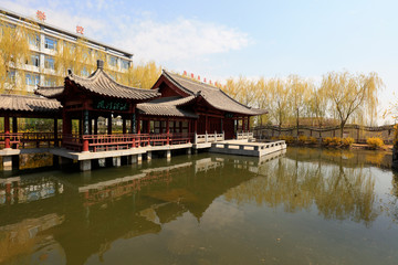 scenery of Chinese traditional architecture