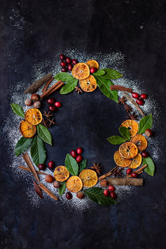 Holiday Spice wreath
