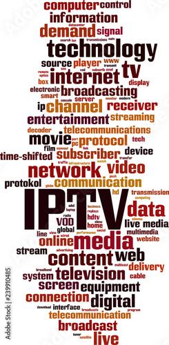 IPTV word cloud