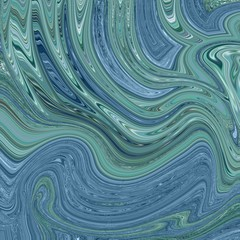 Metallic marbled paper background.