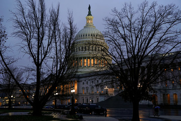 A view of the U.S. Capitol ahead of a possible partial government shut down in Washington