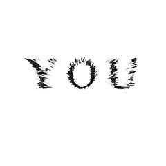 3d text illustration depth effect you
