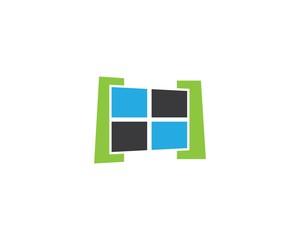 Window symbol illustration
