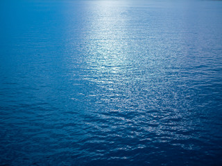 Blue peace water background