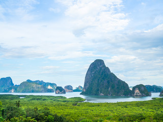 Samet Nangshe, beautiful seascape view