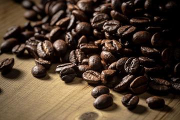 コーヒー豆の集合