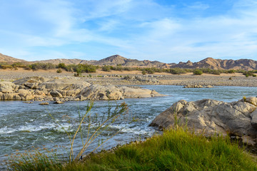 Orange river in Namibia
