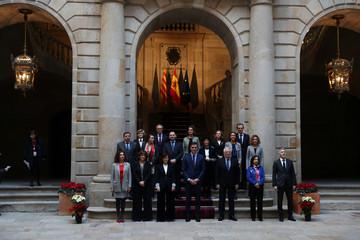Weekly cabinet meeting in Barcelona