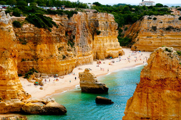 Beach in Algarve Coast - Portugal