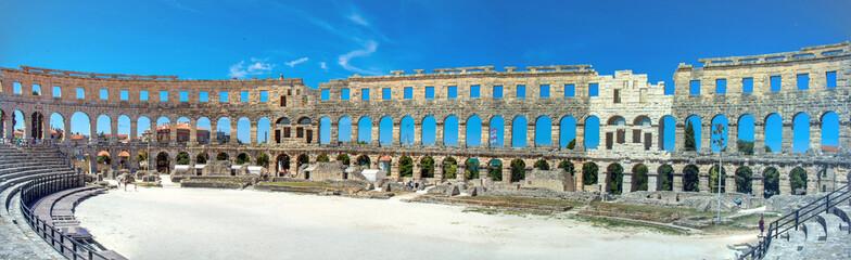 Coliseum in Croatia  is the city of Pula