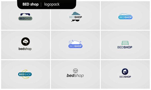 Logo Pack - Bed shop