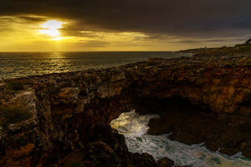 Cascais mit seiner spektakulären Küste am Atlantik in der Nähe von Lissabon, Portugal