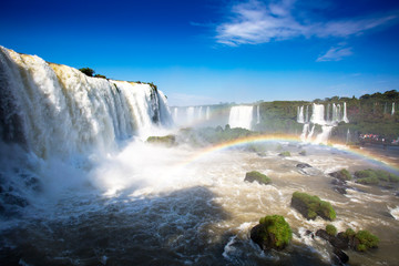 Iguazu waterfalls Brazillian side