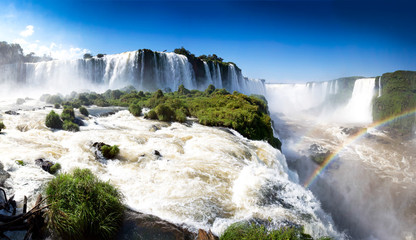 Iguazu waterfalls Brazillian side