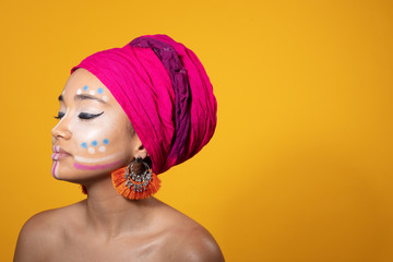 nice african model
