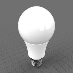 LED frosted classic light bulb