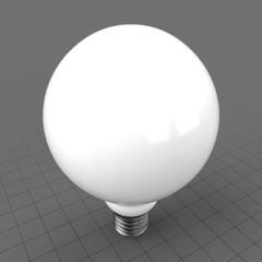 LED globe shape bulb