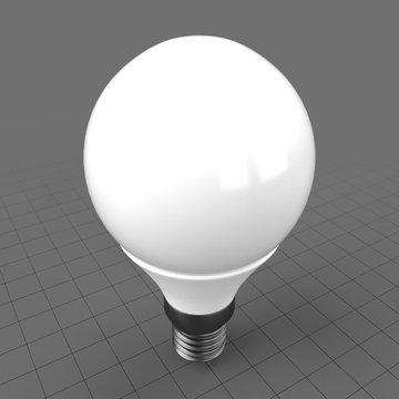 LED round shape bulb