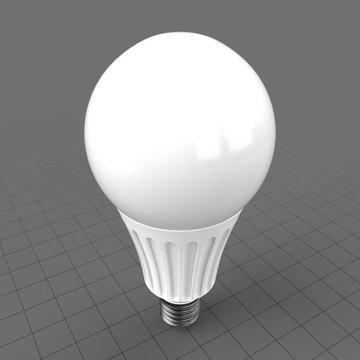 Energy saver carved round bulb