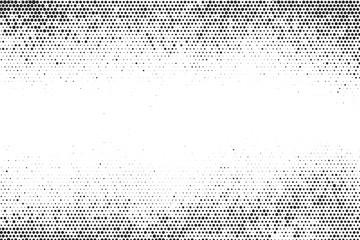 Black and white halftone grunge texture Fototapete