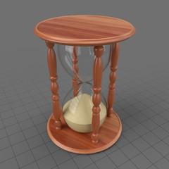 Classic hourglass