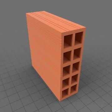 Compartmentalized brick 1