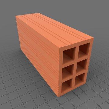 Compartmentalized brick 2