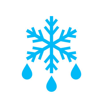 Thaw vector icon