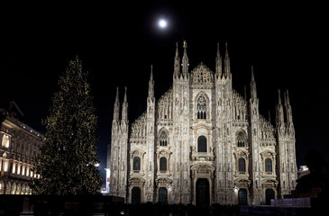 Duomo di Milano a Natale