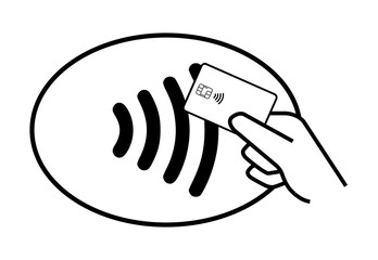 Paying with contactless payment card
