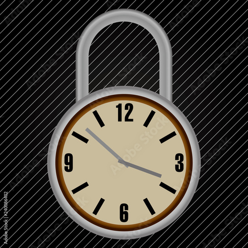Timer Lock to lock the time or lock that with timer