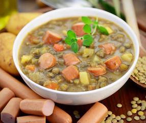 Suppe Wurst