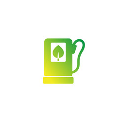 Biofuel station icon