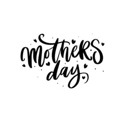 handdrown lettering for mothers day