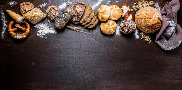 Brot - Brötchen -  Bäcker - Bäckerei - Gebäck - Backwaren