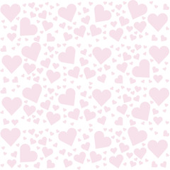 love hears background illustration