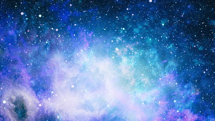 The center of milky way galaxy and space dust in the universe, Night starry sky with stars ,