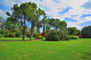 The famous Garden Park Sigurta in Italy