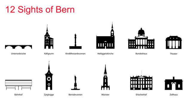 Bern Silhouette